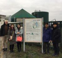 Koreanische Umweltexperten besuchen Lorscher Biogasanlage