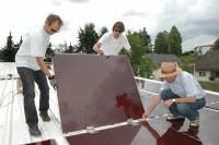 Energiegenossen montieren PV-Anlage – SolarSTARK 2 in Ober-Laudenbach nimmt Gestalt an