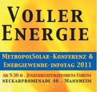 """Energiegenossenschaft Starkenburg beim Kongress """"Volle Energie"""" vertreten"""