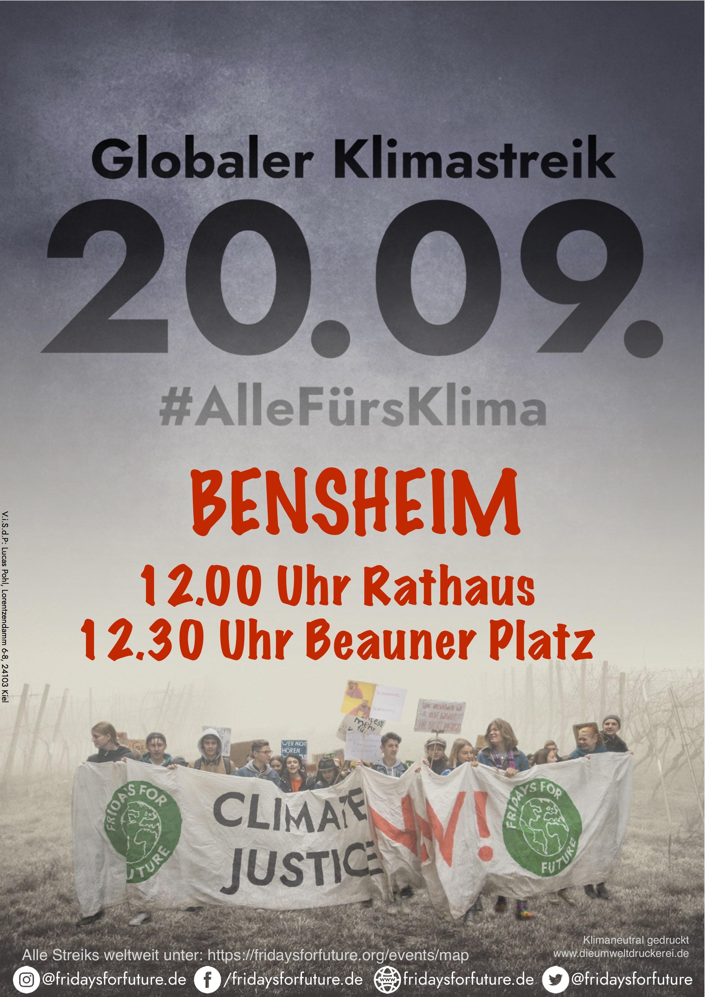 klimastreik-bensheim