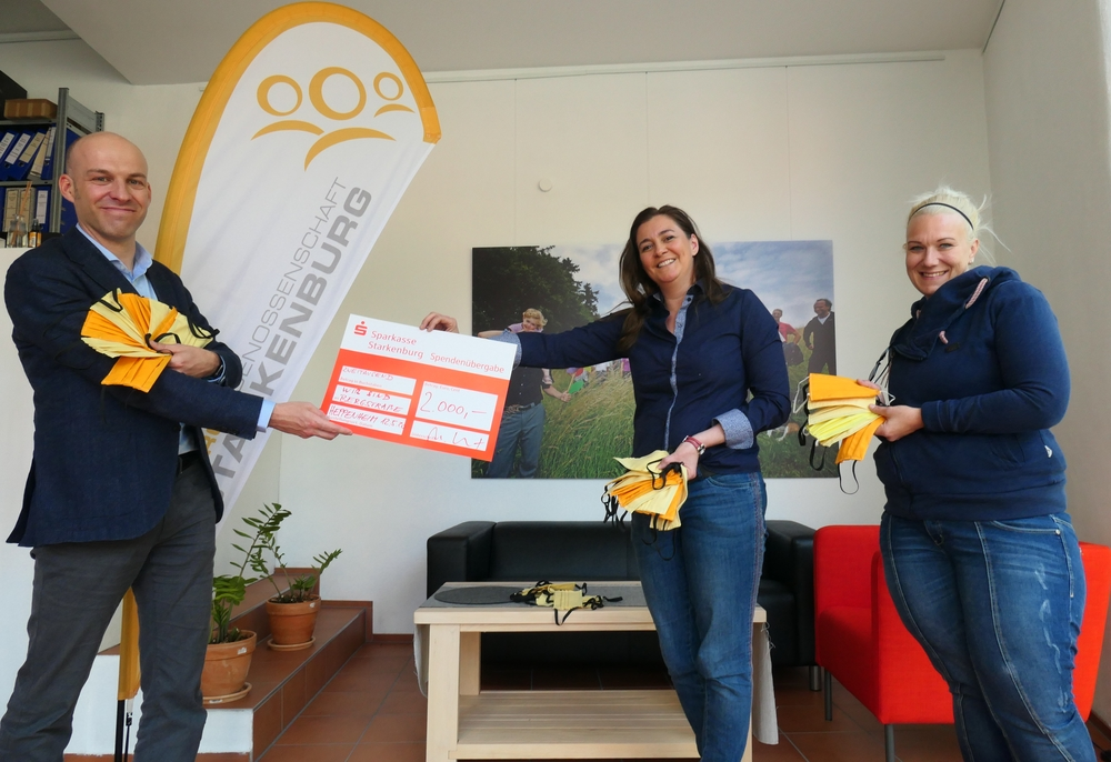 von rechts: Annalene Homa, Dr. Diana Scholz, Andres Guthier (Aufsichtsrat Energiegenossenschaft Starkenburg)